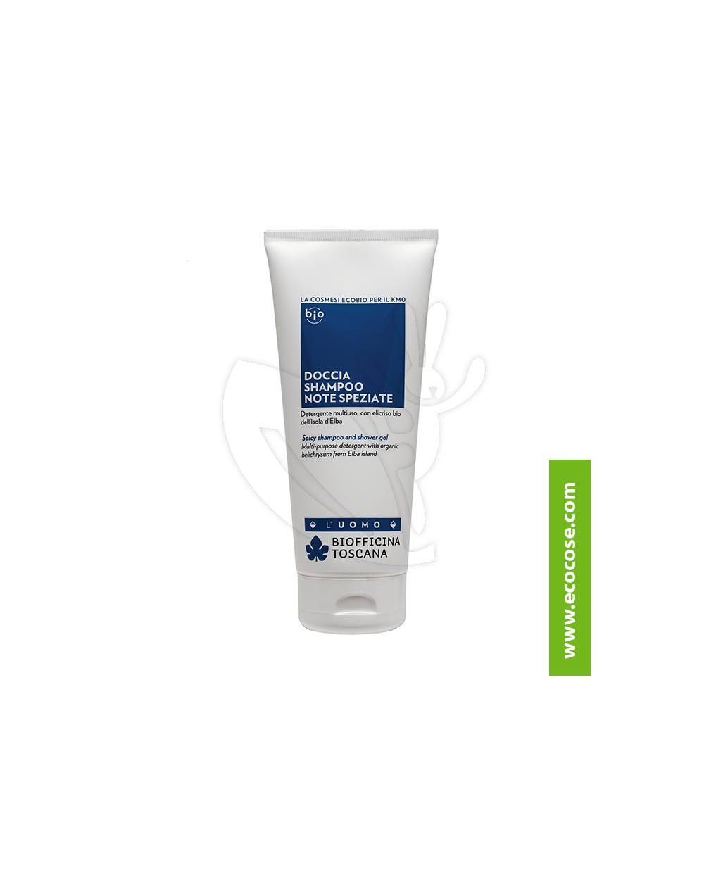 Biofficina Toscana - UOMO - Doccia shampoo Note SPEZIATE
