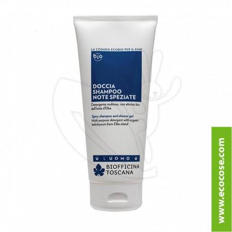 Biofficina Toscana - Doccia shampoo - Note SPEZIATE