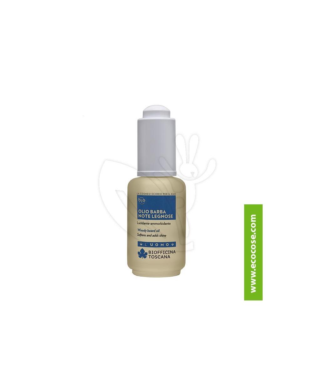 Biofficina Toscana - UOMO - Olio Barba note LEGNOSE