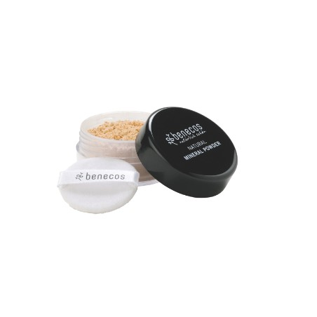 benecos Natural Mineral Powder light sand