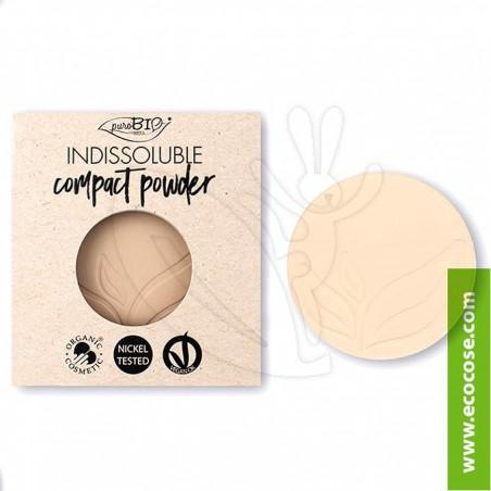 PuroBIO Cosmetics - Cipria Indissolubile Biologica 01 - REFILL