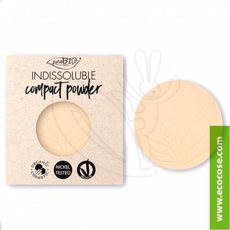 PuroBIO Cosmetics - Cipria Indissolubile Biologica 02 - REFILL
