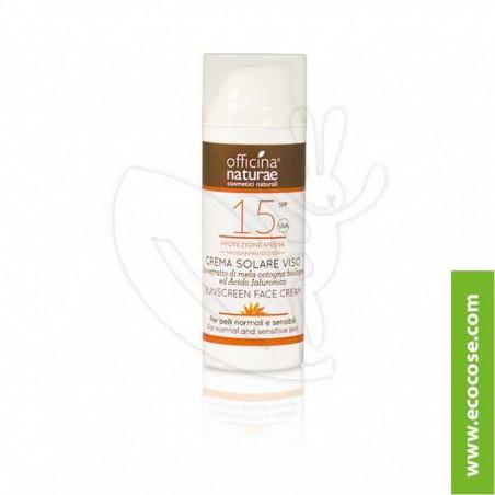 Officina Naturae - Crema Solare Viso SPF 15 Protezione media