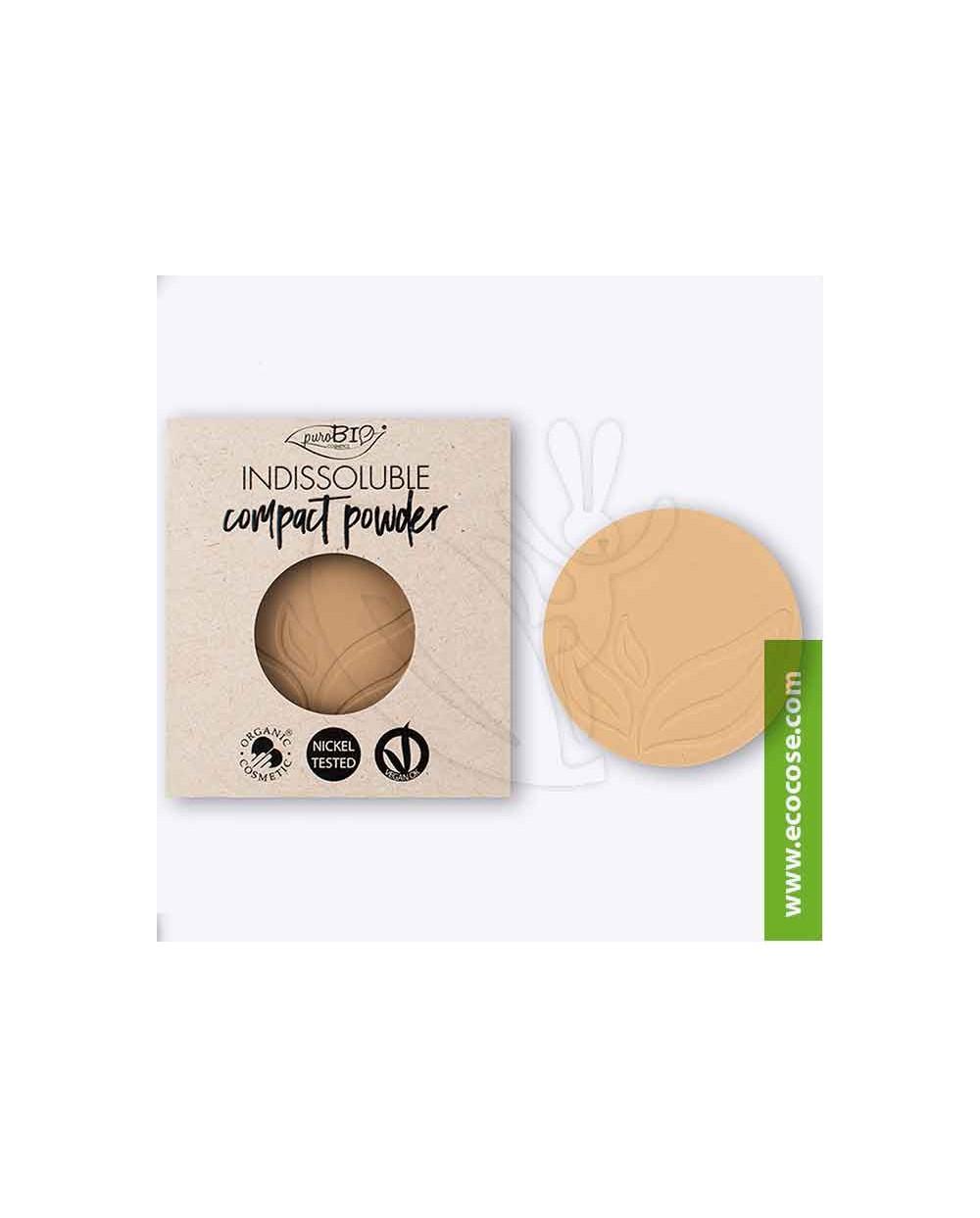 PuroBIO Cosmetics - Cipria Indissolubile Biologica 03 - REFILL