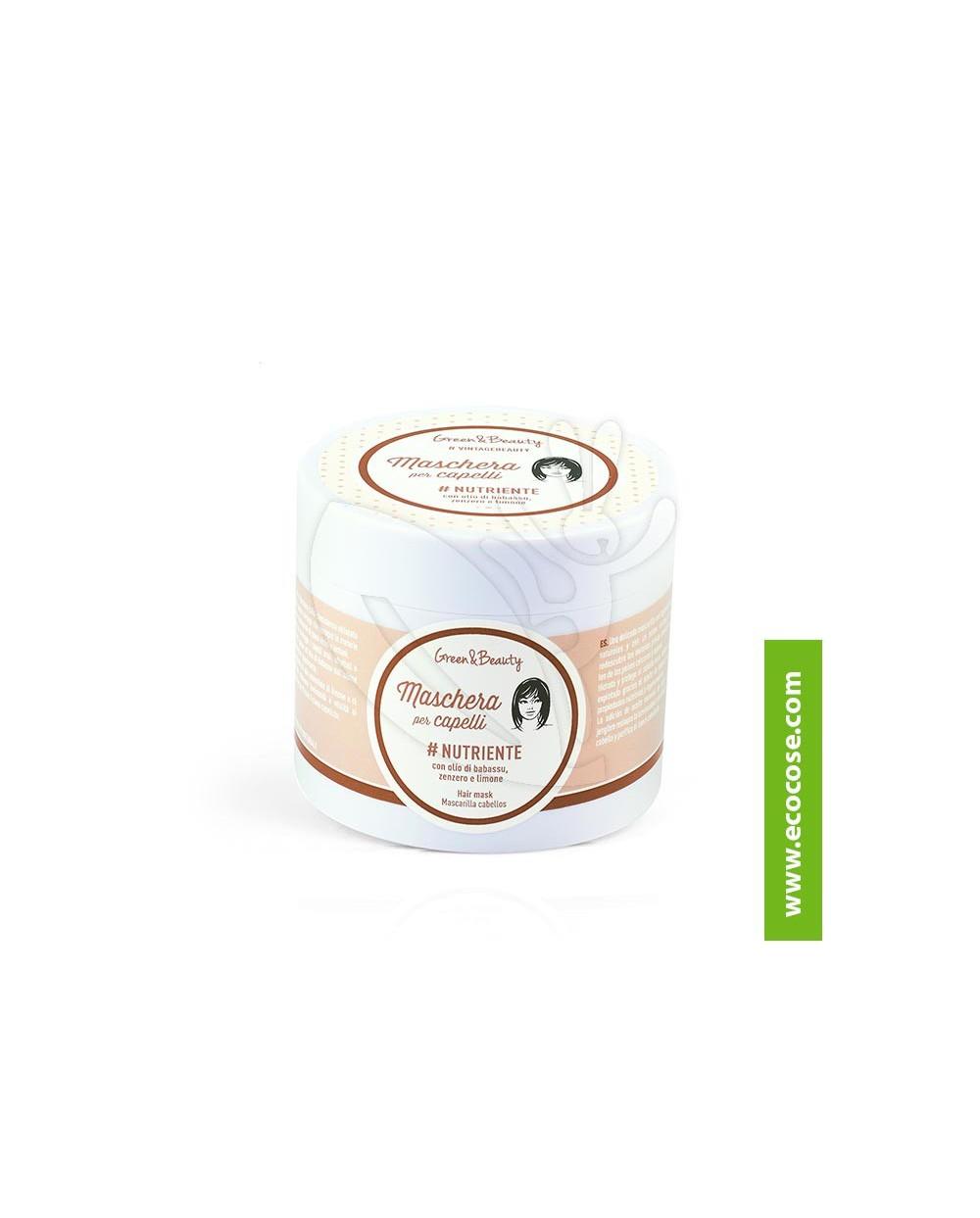 Green&Beauty - Maschera capelli Nutriente