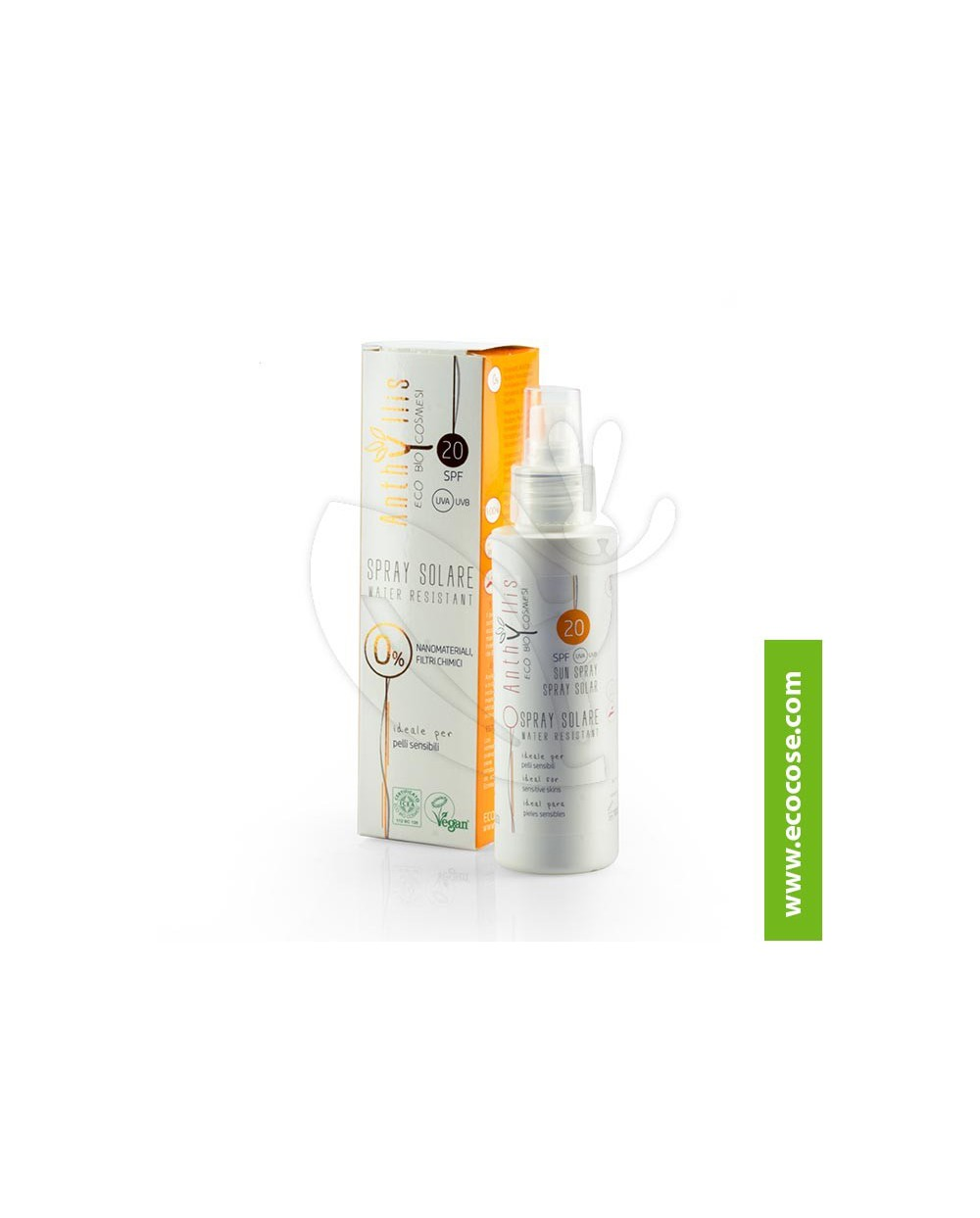 Anthyllis - Spray solare protezione media spf20