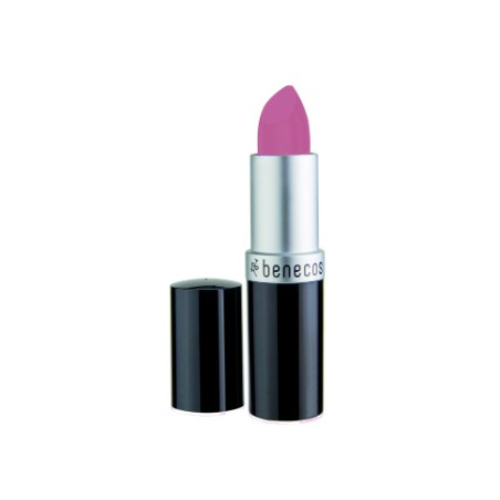 benecos Natural Lipstick pink rose