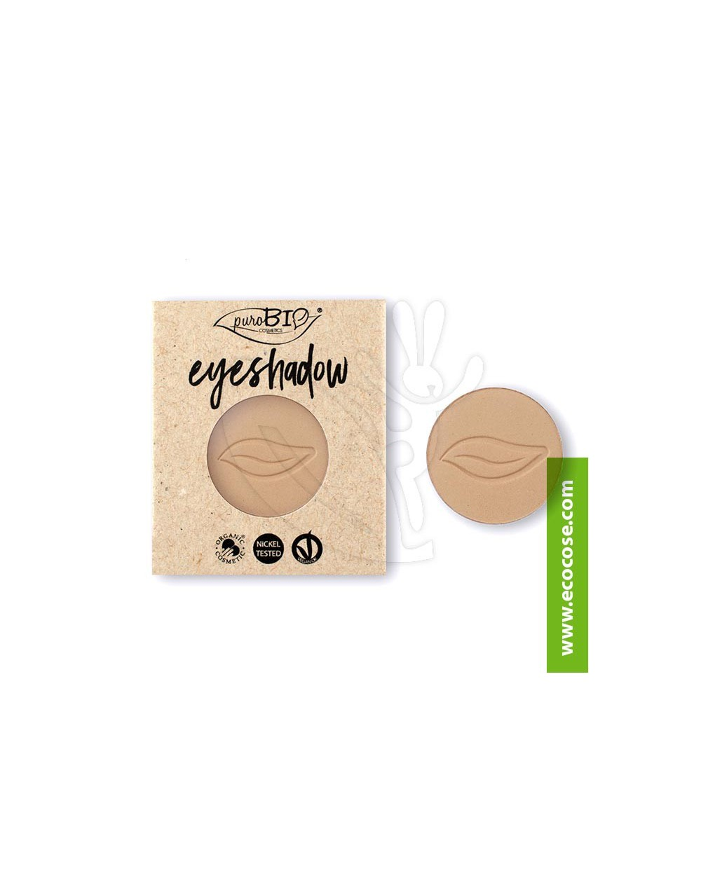 PuroBIO Cosmetics - Ombretto in cialda 02 Torrone - REFILL