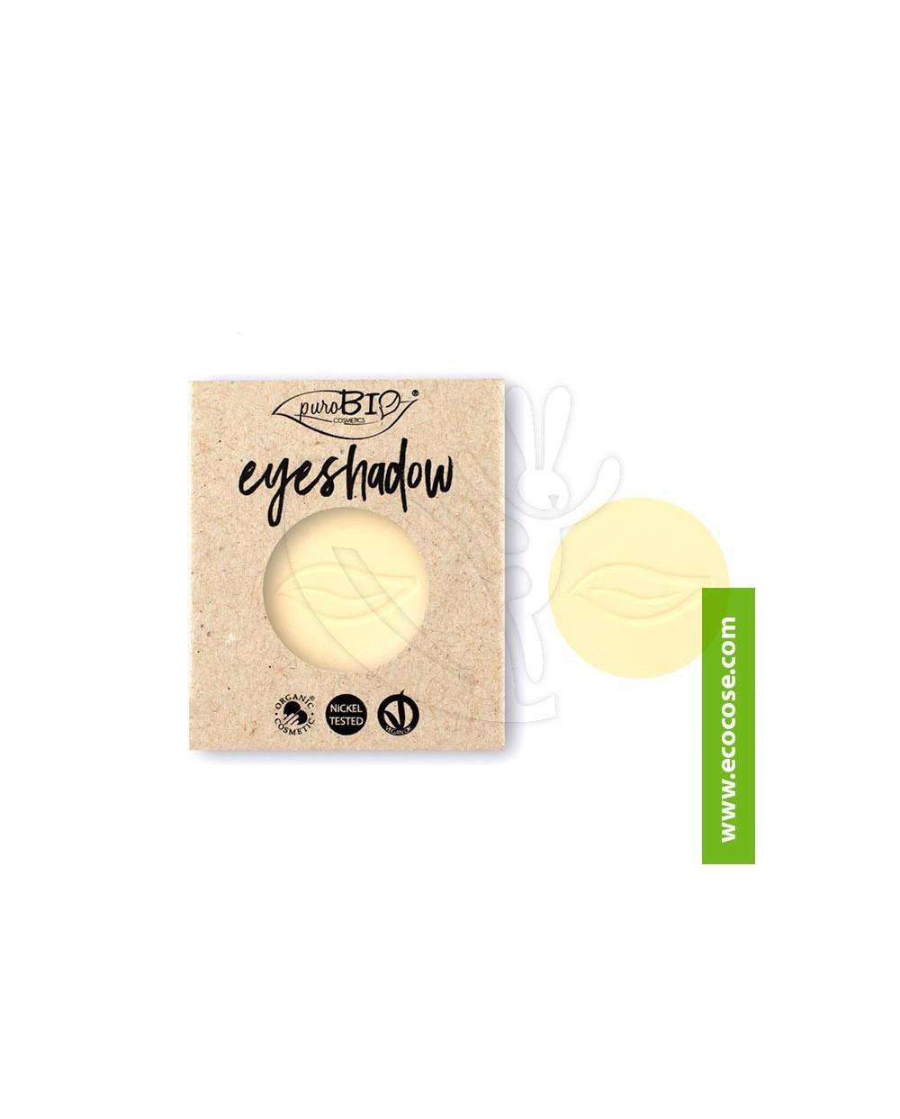 PuroBIO Cosmetics - Ombretto in cialda 11 Giallo banana - REFILL