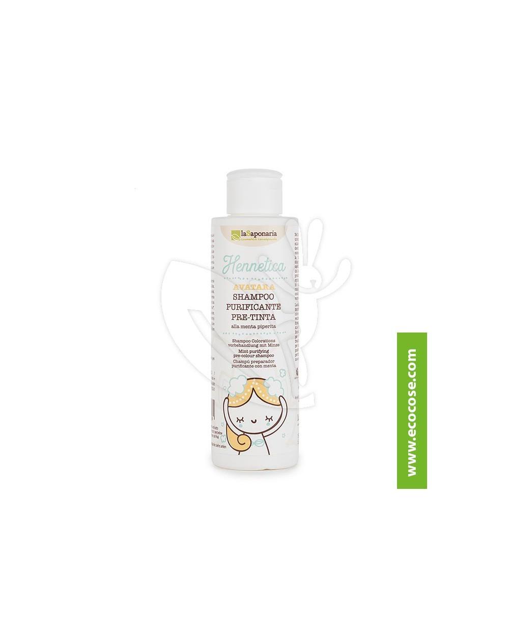 La Saponaria - Hennetica - Shampoo pre-tinta Avatara