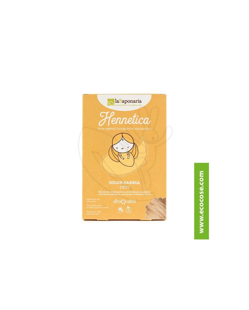La Saponaria - Hennetica - Tinta vegetale sabbia Devi