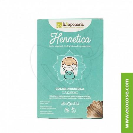La Saponaria - Hennetica - Tinta vegetale nocciola Lakshmi