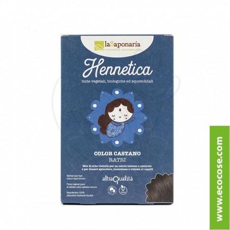 La Saponaria - Hennetica - Tinta vegetale castano scuro Ratri