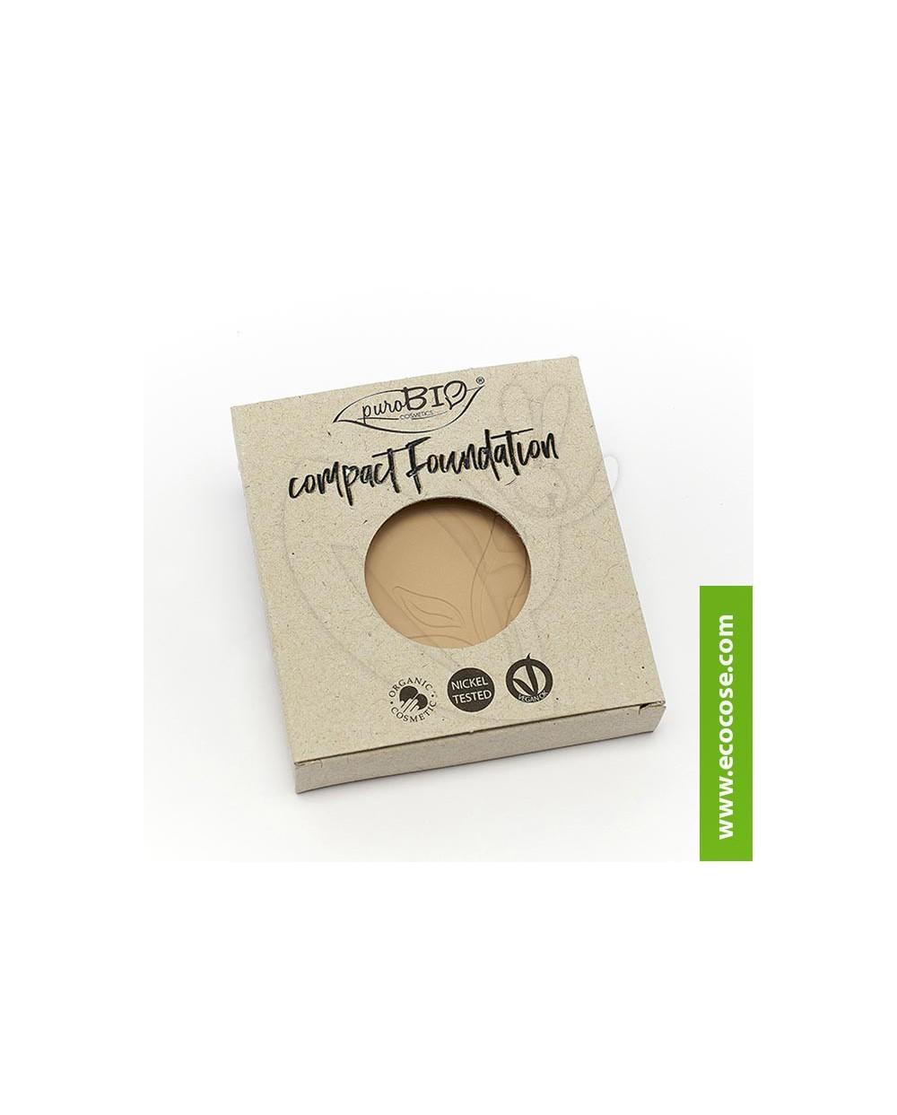 PuroBIO Cosmetics - Fondotinta compatto 01 - REFILL