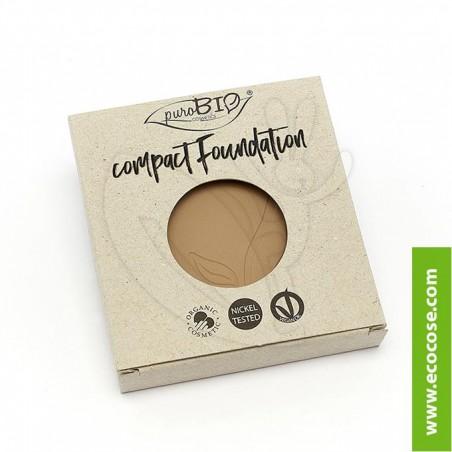PuroBIO Cosmetics - Fondotinta compatto 03 - REFILL