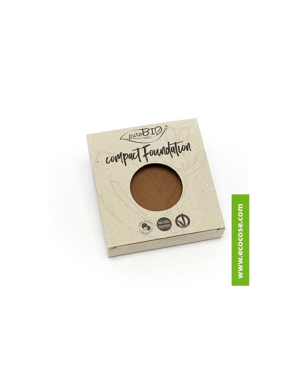 PuroBIO Cosmetics - Fondotinta compatto 06 - REFILL
