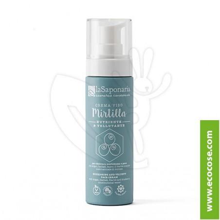 La Saponaria - Costituzionale - Crema viso nutriente Mirtilla