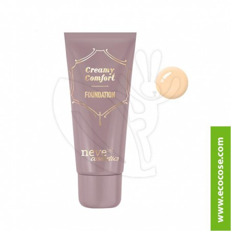 Neve Cosmetics - Fondotinta Creamy Comfort Light Warm
