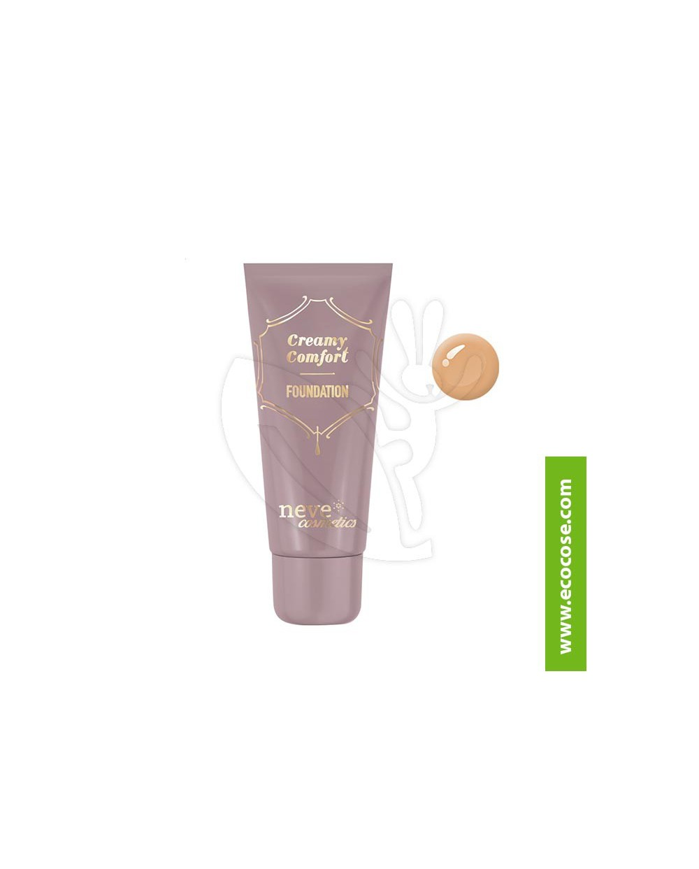 Neve Cosmetics - Fondotinta Creamy Comfort Dark Warm