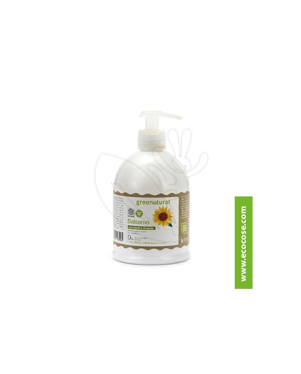Greenatural - Balsamo capelli Karité e Girasole