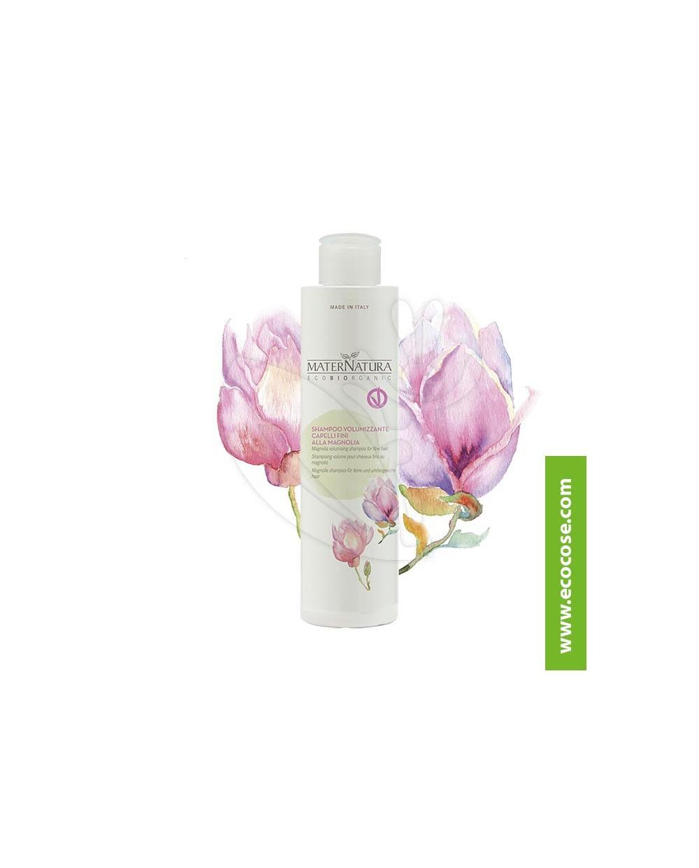 Maternatura - Shampoo volumizzante capelli fini alla Magnolia