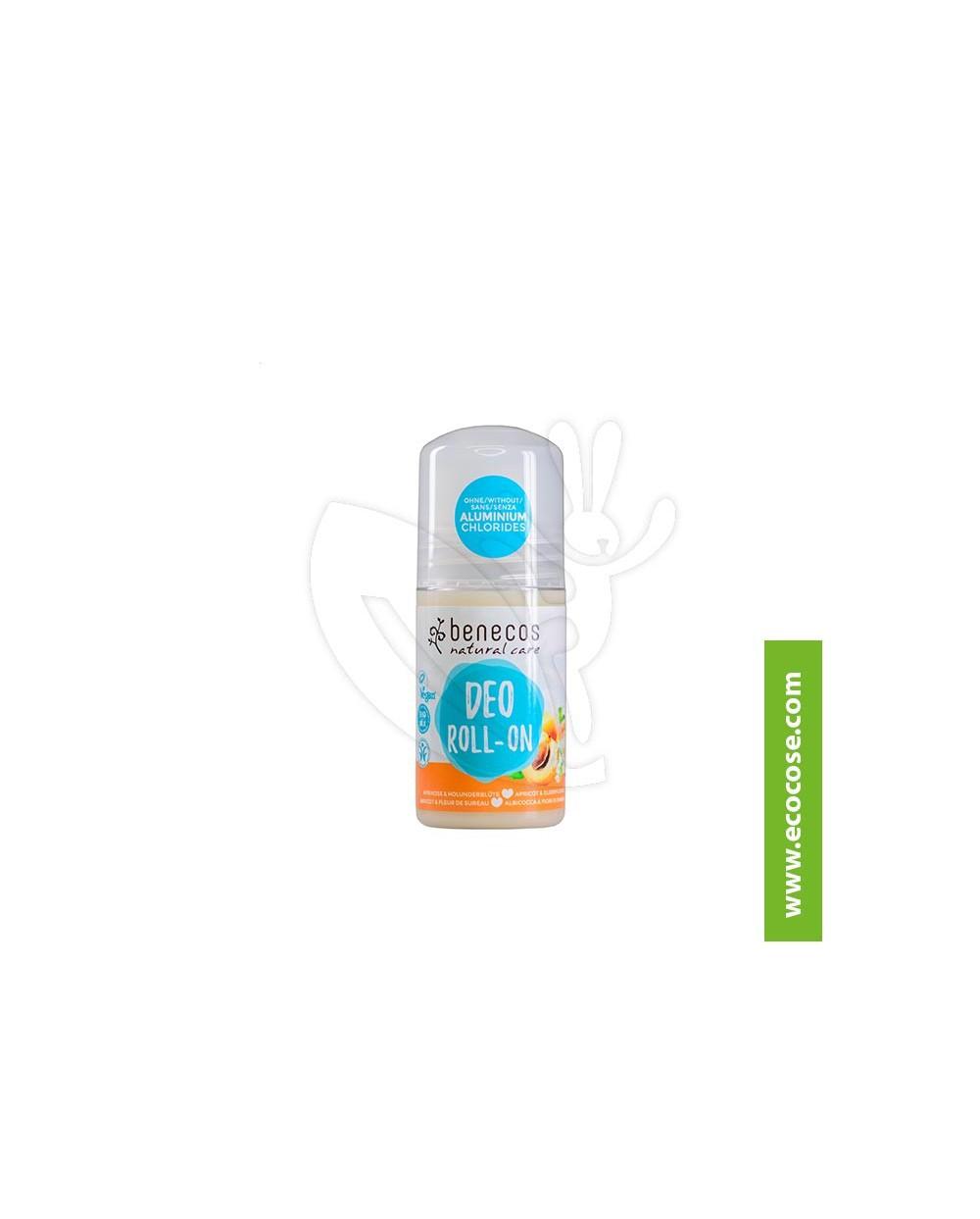 Benecos - Natural Care - Deo roll on - Albicocca e Fiori di Sambuco
