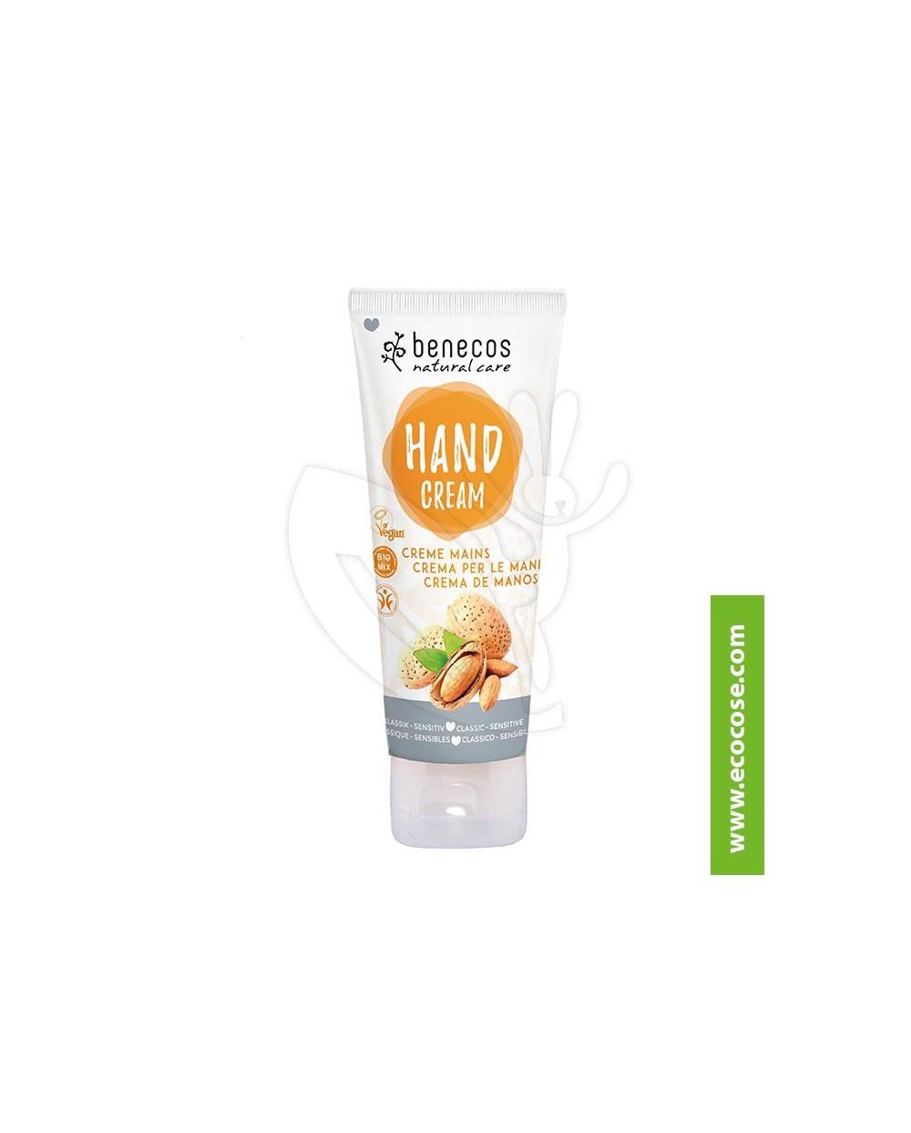 Benecos - Natural Care - Crema mani Classic-Sensitive