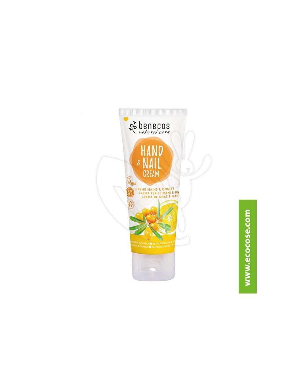 Benecos - Natural Care - Crema mani e unghie Olivello Spinoso e Arancio