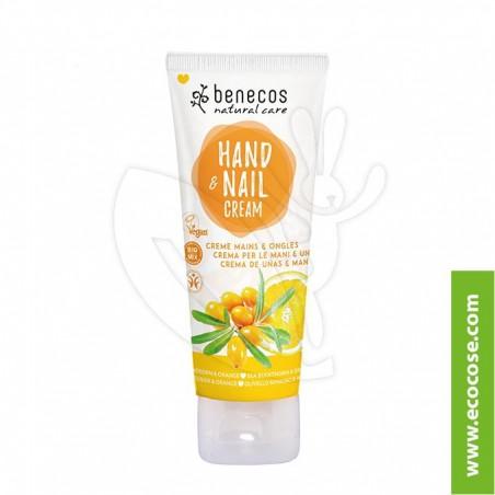 Benecos Natural Care - Crema mani e unghie Olivello Spinoso e Arancio