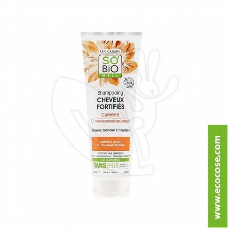 So' Bio Étic - Shampoo fortificante Niaouli e Guaranà