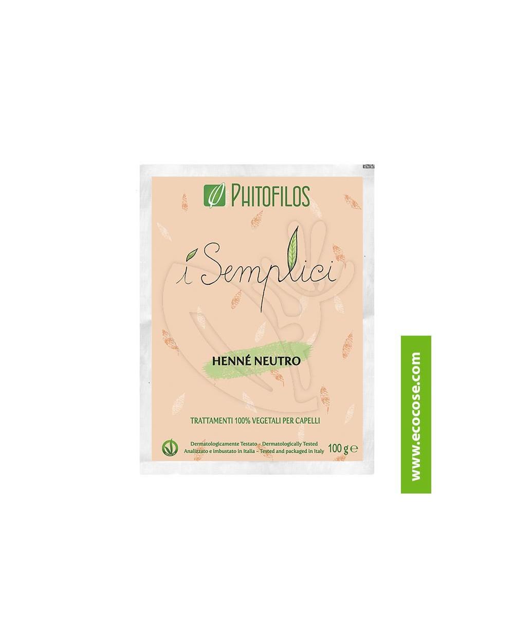 Phitofilos - I semplici - Henné Neutro (Cassia)
