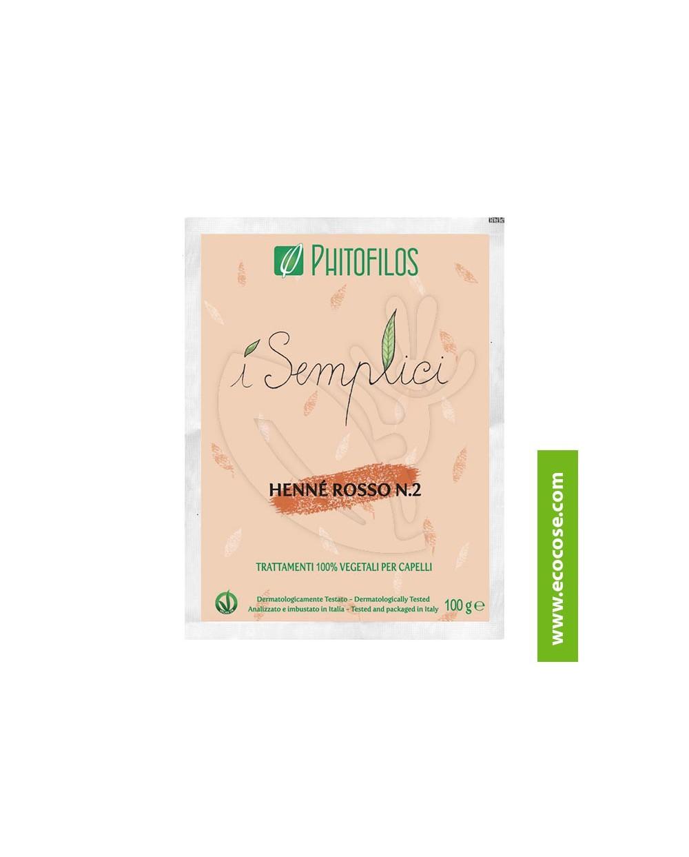 Phitofilos - I semplici - Henné Rosso n. 2 micronizzato