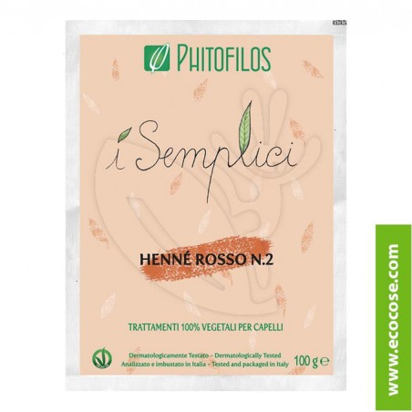 Phitofilos - Arte d'Erbe - Henné Rosso n. 2 micronizzato