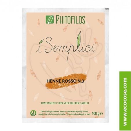Phitofilos - I semplici - Henné Rosso n. 3