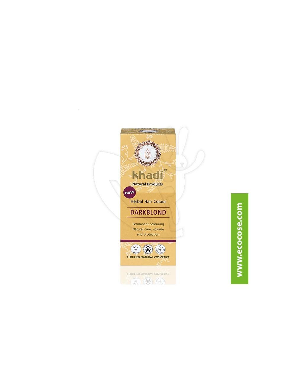 Khadi - Tinta vegetale Biondo Scuro (Henné Biondo Scuro)