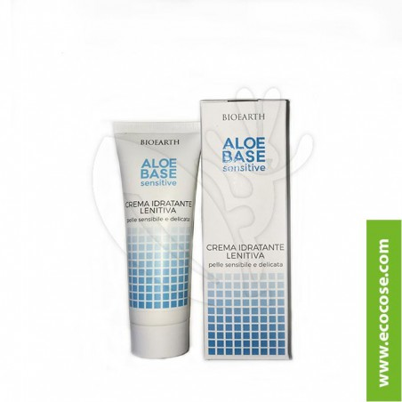 Bioearth - Aloebase Sensitive - Crema viso idratante lenitiva