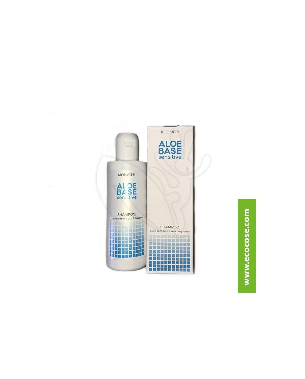 Bioearth - Aloebase Sensitive - Shampoo cute sensibile e uso frequente