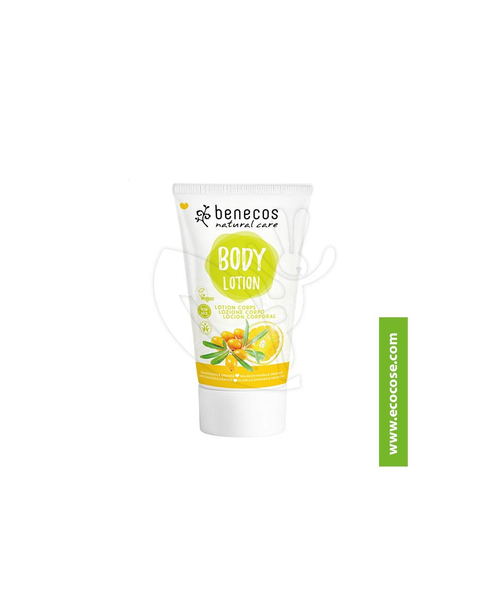 Benecos - Natural Care - Body Lotion - Olivello spinoso e Arancia