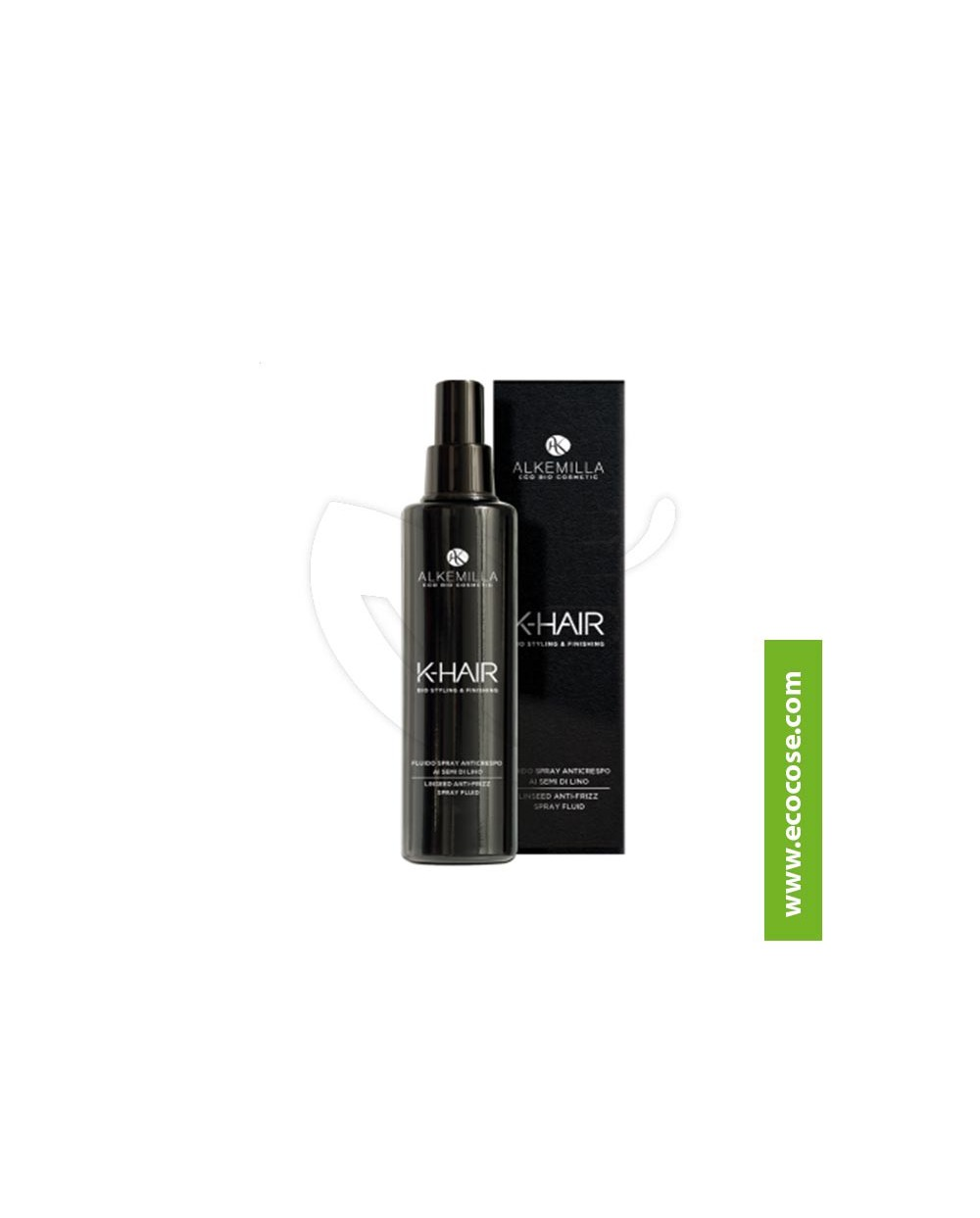 Alkemilla - K-HAIR - Fluido Spray Anticrespo ai semi di lino