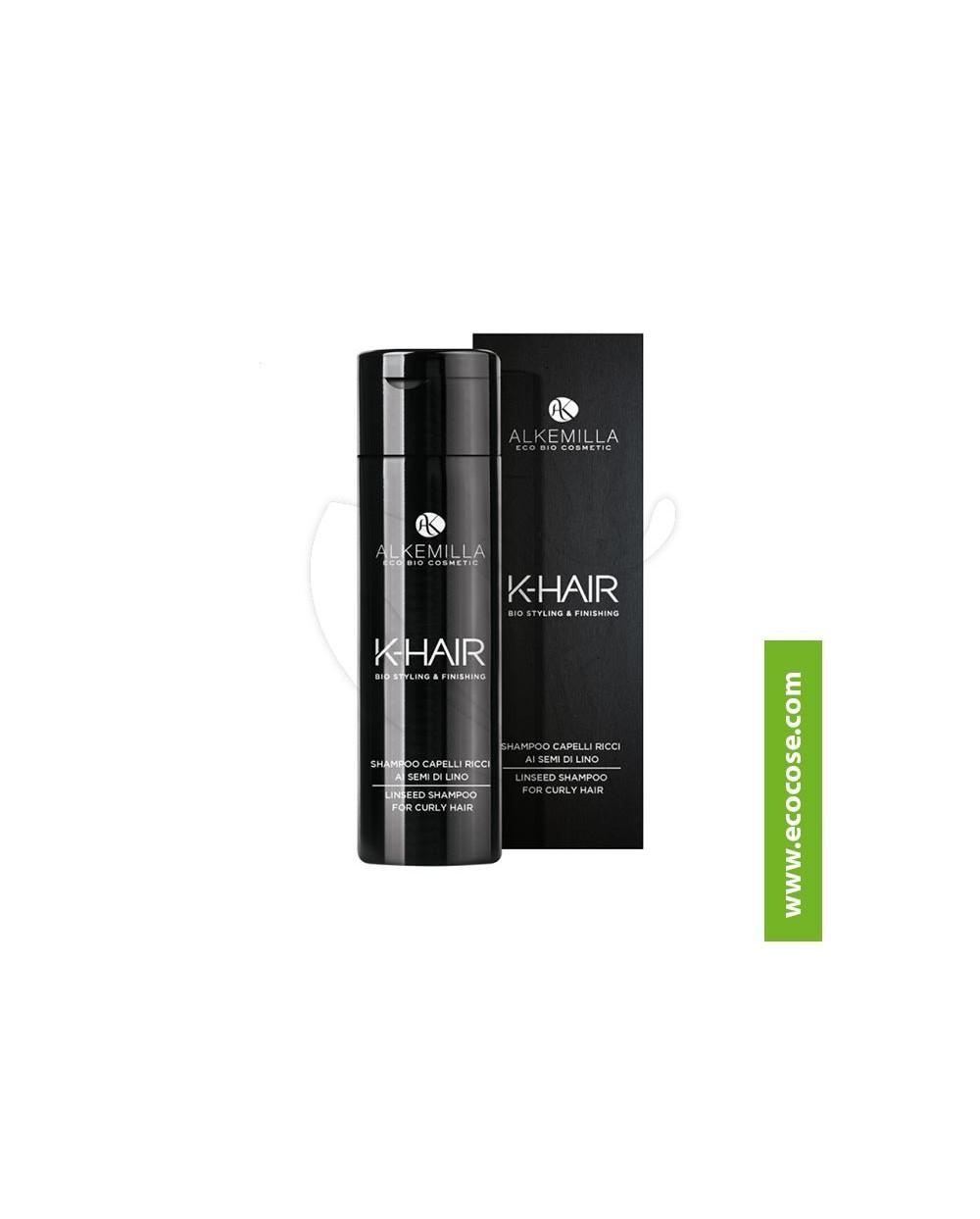 Alkemilla - K-HAIR - Shampoo Capelli Ricci ai semi di lino