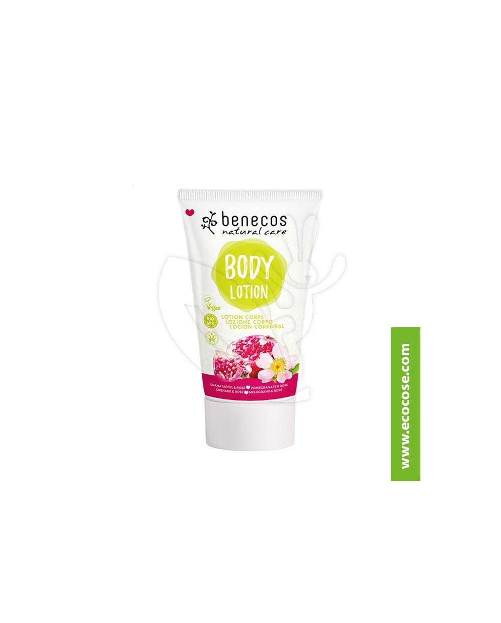 Benecos - Natural Care - Body Lotion - Melograno e Rosa