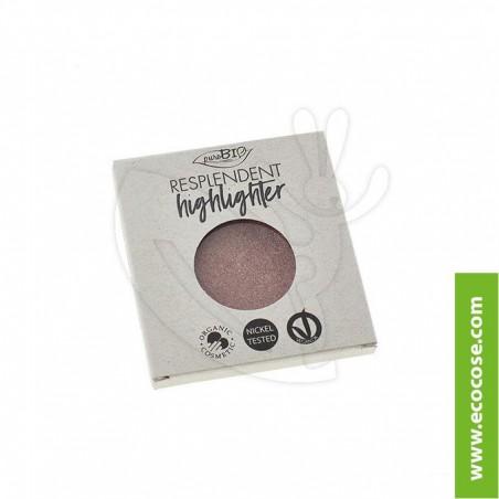 PuroBIO Cosmetics - Resplendent - Highlighter Illuminante 04 REFILL