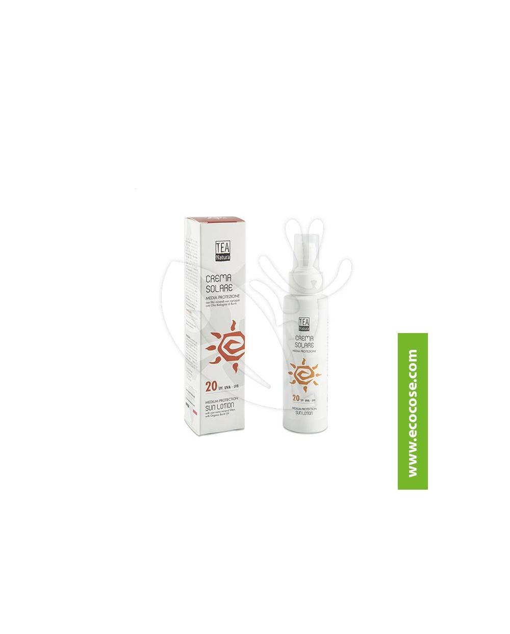 Tea Natura - Crema solare Media Protezione SPF20