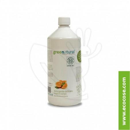 Greenatural - Detergente Menta Arancio RICARICA 1 LITRO