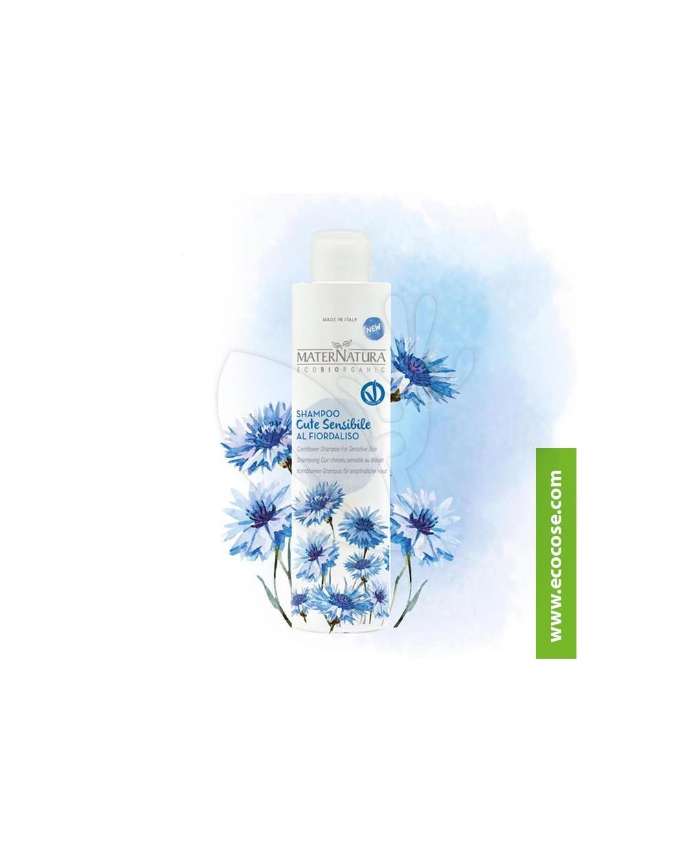 Maternatura - Shampoo cute sensibile al Fiordaliso