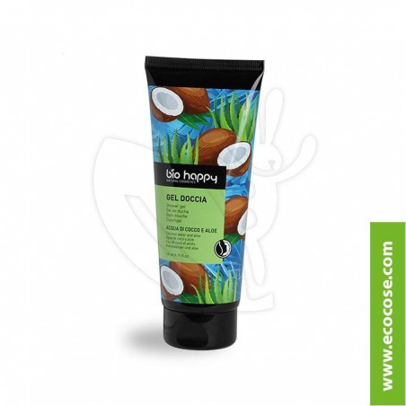 Bio Happy - Gel doccia Acqua di cocco e Aloe