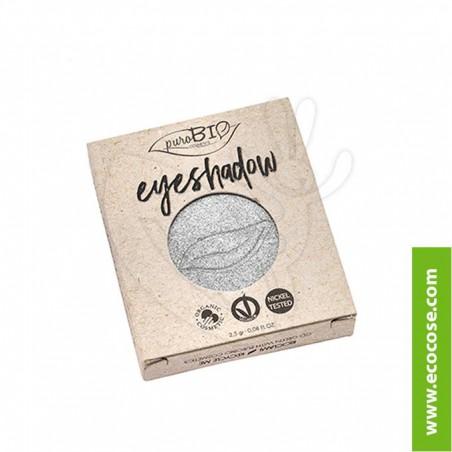 PuroBIO Cosmetics - Ombretto in cialda 23 Argento REFILL
