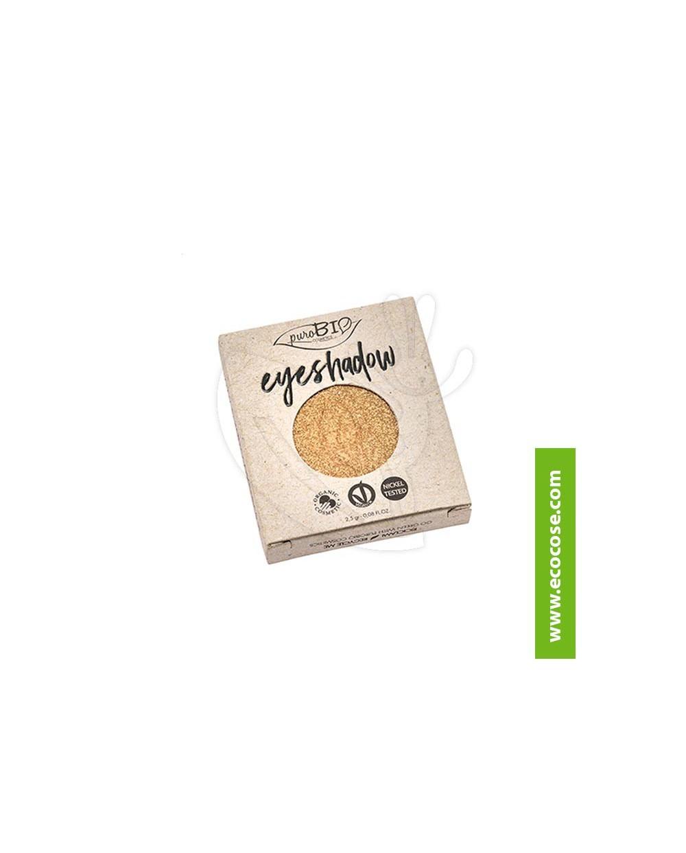PuroBIO Cosmetics - Ombretto in cialda 24 Oro REFILL