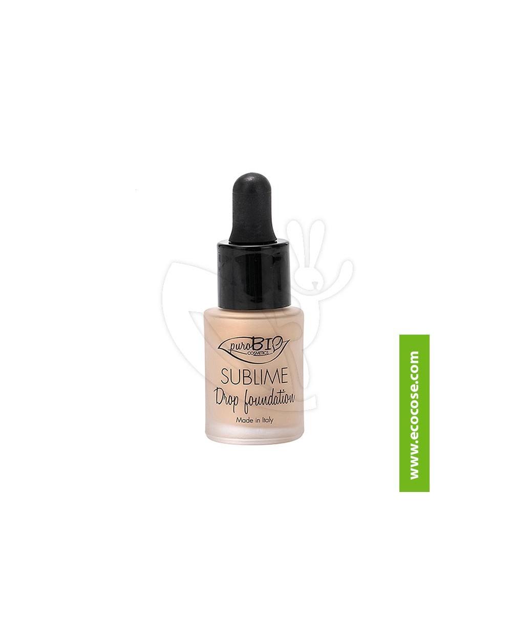 PuroBIO Cosmetics - Sublime Drop Foundation 01