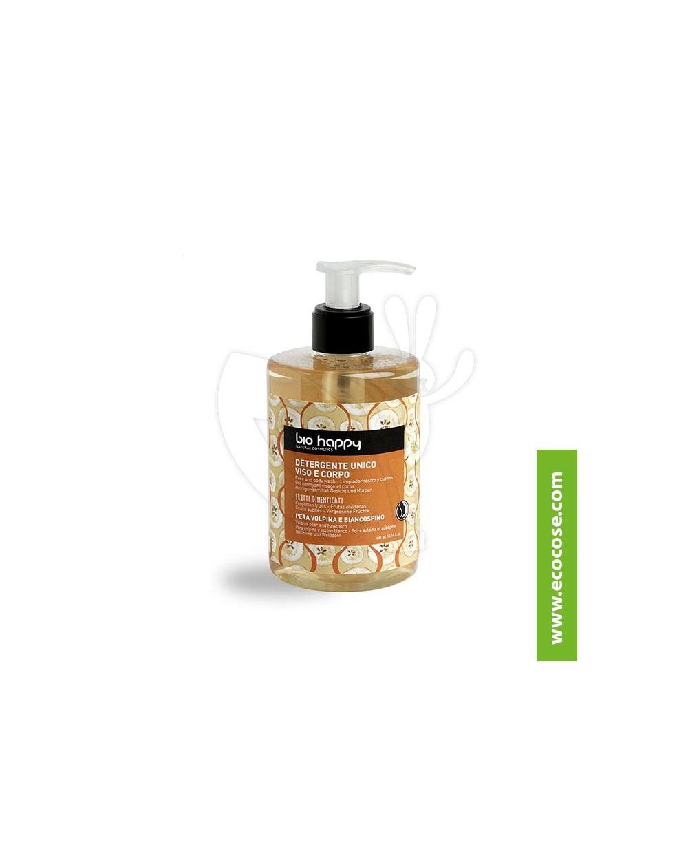 Bio Happy - Detergente unico viso corpo Pera volpina e Biancospino